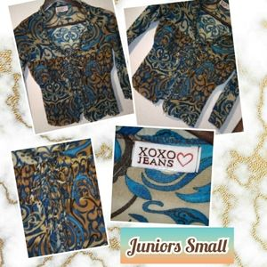 Juniors Size Small Top by XOXO Jeans